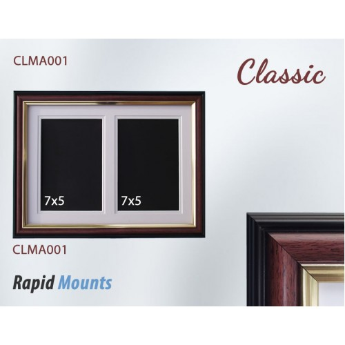 Classic Multi Aperture Frames & Double Mount